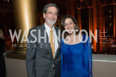 Doug Mishkin, Wendy Jennis. The Lab School of Washington Awards Gala. Photo by Alfredo Flores. The National Building Museum. November 8, 2012