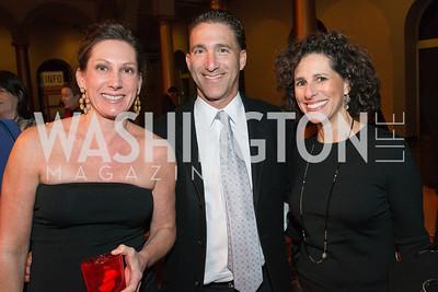 Jodi Maclin, Rodd Maclin, Debbie Ellick. The Lab School of Washington Awards Gala. Photo by Alfredo Flores. The National Building Museum. November 8, 2012
