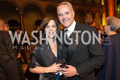 Lori Jones, Chris Jones. The Lab School of Washington Awards Gala. Photo by Alfredo Flores. The National Building Museum. November 8, 2012