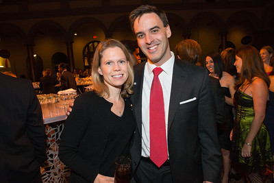 Amy Graham, Daniel Graham. The Lab School of Washington Awards Gala. Photo by Alfredo Flores. The National Building Museum. November 8, 2012