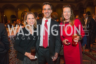 Amy Graham, Daniel Graham, Anita Brassart. The Lab School of Washington Awards Gala. Photo by Alfredo Flores. The National Building Museum. November 8, 2012