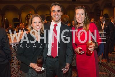 Amy Graham, Daniel Graham, Anita Brassart. The Lab School of Washington Awards Gala. Photo by Alfredo Flores. The National Building Museum. November 8, 2012