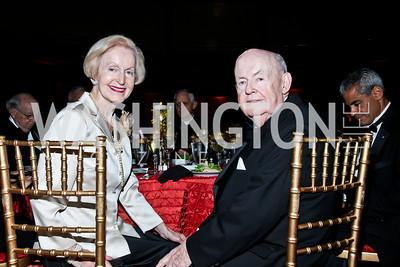 Maureen and John Sweeney. Photo by Tony Powell. The National Museum of Catholic Art & Library Board of Trustees Gala. Italian Embassy. September 26, 2012