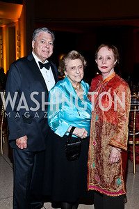 Thomas Hale Boggs, Jr., Lindy and Barbara Boggs. Photo by Tony Powell. The National Museum of Catholic Art & Library Board of Trustees Gala. Italian Embassy. September 26, 2012