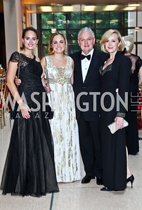 Alaina Urbahns, Kate Mezzanotte, John and Janna Urbahns. Photo by Tony Powell. The National Museum of Catholic Art & Library Board of Trustees Gala. Italian Embassy. September 26, 2012