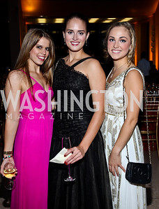 Adrienne Watson, Alaina Urbahns, Kate Mezzanotte. Photo by Tony Powell. The National Museum of Catholic Art & Library Board of Trustees Gala. Italian Embassy. September 26, 2012