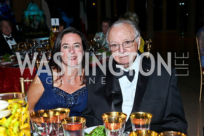 Monica Melady and Ambassador Tom Melady. Photo by Tony Powell. The National Museum of Catholic Art & Library Board of Trustees Gala. Italian Embassy. September 26, 2012