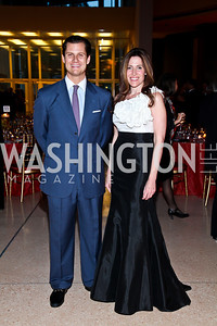John Cecchi, Dawn Marie Jones. Photo by Tony Powell. The National Museum of Catholic Art & Library Board of Trustees Gala. Italian Embassy. September 26, 2012