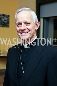Cardinal Donald Wuerl. Photo by Tony Powell. The National Museum of Catholic Art & Library Board of Trustees Gala. Italian Embassy. September 26, 2012