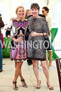 Sonya Bernhardt, Kelly Sullivan. Photo by Tony Powell. NSLM 2012 Benefit Polo Match and Luncheon. Llangollen Estate. September 23, 2012