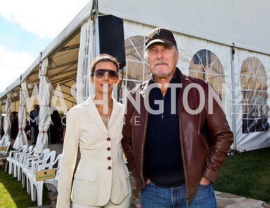 Honorary Committee Members Lucianna and Robert Duvall. Photo by Tony Powell. NSLM 2012 Benefit Polo Match and Luncheon. Llangollen Estate. September 23, 2012