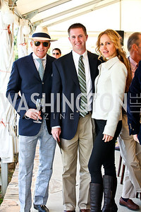 Timothy Greenan, Nick Streit, Jocelyn Greenan. Photo by Tony Powell. NSLM 2012 Benefit Polo Match and Luncheon. Llangollen Estate. September 23, 2012