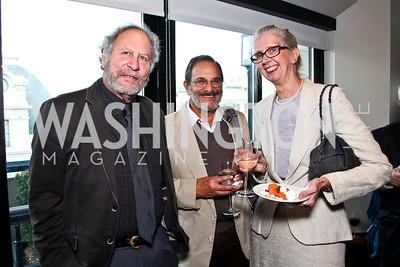 Wayne Karlin, Michael Glaser, Carole Kraemer. The 9th Ridenhour Prizes. Photo by Tony Powell. National Press Club. April 25, 2012