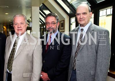 Kirk Wiebe, Conrad Martin, Bill Binney. The 9th Ridenhour Prizes. Photo by Tony Powell. National Press Club. April 25, 2012