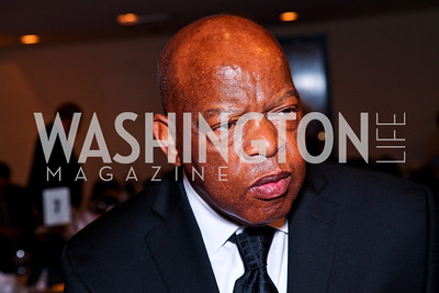2012 Prize recipient Rep. John Lewis. The 9th Ridenhour Prizes. Photo by Tony Powell. National Press Club. April 25, 2012
