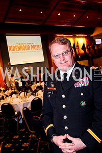 2012 Prize recipient Lt. Col. Daniel Davis. The 9th Ridenhour Prizes. Photo by Tony Powell. National Press Club. April 25, 2012