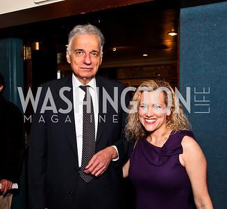 Ralph Nader, Jesselyn Radack. The 9th Ridenhour Prizes. Photo by Tony Powell. National Press Club. April 25, 2012