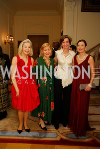 Nina Pillsbury,Evelyn di Bona, Sophie L'Hellas -Delatttre,Marie Royce,April 12,2012,Tenth Anniversary of the Alliance Francaise Educational Intiatives,Kyle Samperton