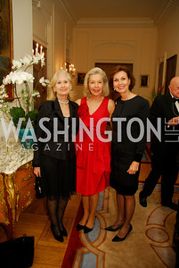 Willee Lewis,Nina Pillsbury,Heidi  DeBovoise,April 12,2012,Tenth Anniversary of the Alliance Francaise Educational Intiatives,Kyle Samperton