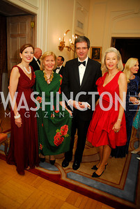 Marie Royce,Evelyn DiBona,Ambassador Francois Delattre,Nina Pillsbury,,April 12,2012,Tenth Anniversary of the Alliance Francaise Educational Intiatives,Kyle Samperton