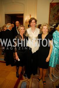 Michelle Imhoff,Sophie L'Hellas-Delattre,Bobbie Brewster,April 12,2012,Tenth Anniversary of the Alliance Francaise Educational Intiatives,Kyle Samperton