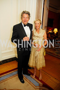 Marston Luce,Deborah deGorter,April 12,2012,Tenth Anniversary of the Alliance Francaise Educational Intiatives,Kyle Samperton