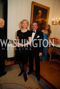 Joan Carl,Bernard Carl,April 12,2012,Tenth Anniversary of the Alliance Francaise Educational Intiatives,Kyle Samperton
