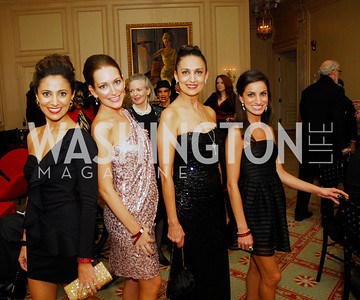 Ava Deylami,Sara Lange, Indira Mehrtour, Nasim Deylami,October 5,2012,The Washington Ballet  Dracula Soiree,Kyle Samperton