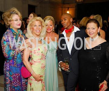 Hilda Brillembourg,Kandy Stroud,Debbie SigmundAaron Jackson,Lizette Coro,,The Washington Ballet's Alice in Wonderland Ball,,April 26,2012,Kyle Samperton