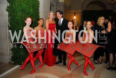 Elizabeth Bagley,Septime Webre,The Washington Ballet's Alice in Wonderland Ball,,April 26,2012,Kyle Samperton