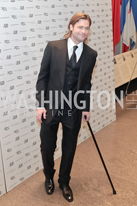 Brad Pitt. The Washington, D.C. Premiere of Angelina Jolie's In The Land of Blood And Honey. United States Holocaust Memorial Museum. January 10, 2012. Photo by Alfredo Flores
