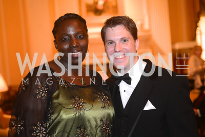 Dr. Nneka Mokwunye, Charlie Sederstrom Washington Home & Community Hospices Gala, Friday November 16, 2012, Photo by Ben Droz.