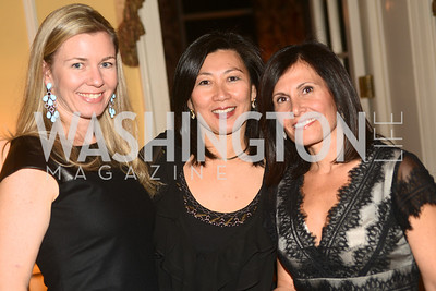 Ida Bergstrom, MD, Wanda Pak, MD, Maro Sarafian, MD,  Washington Home & Community Hospices Gala, Friday November 16, 2012, Photo by Ben Droz.