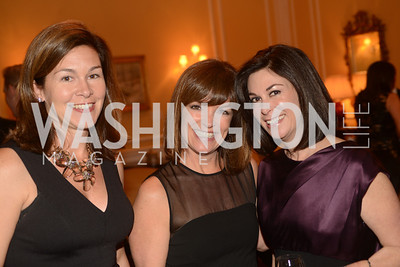 Nicole Watson, Lis Arsenault, Susan Wojcik,  Washington Home & Community Hospices Gala, Friday November 16, 2012, Photo by Ben Droz.