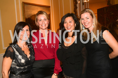 Maro Sarafian, MD, Jojo Spallone, Wanda Pak, MD, Ida Bergstrom, MD, Washington Home & Community Hospices Gala, Friday November 16, 2012, Photo by Ben Droz.
