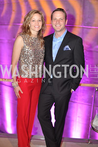 Whitney Drew Snead, Amos Snead,  The Annual Young and the Guest List party hosted by Washington Life Magazine.  Arena Stage, Monday, December 17, 2012 .  Events by Andre Wells, Photo by Ben Droz.