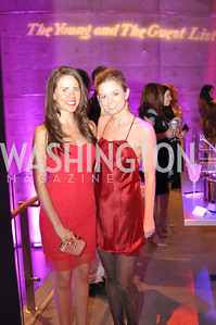Cori Sue Morris, Sophie Pyle,  The Annual Young and the Guest List party hosted by Washington Life Magazine.  Arena Stage, Monday, December 17, 2012 .  Events by Andre Wells, Photo by Ben Droz.
