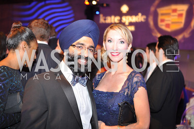 Navroop Mitter, Lindsey Mask, The Annual Young and the Guest List party hosted by Washington Life Magazine.  Arena Stage, Monday, December 17, 2012 .  Events by Andre Wells, Photo by Ben Droz.