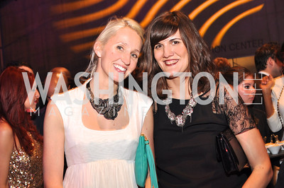 Holly Thomas, Svetlana Legetic,  The Annual Young and the Guest List party hosted by Washington Life Magazine.  Arena Stage, Monday, December 17, 2012 .  Events by Andre Wells, Photo by Ben Droz.