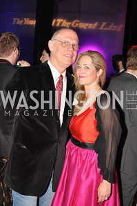 Kevin Chaffee, Nancy Bagley,  The Annual Young and the Guest List party hosted by Washington Life Magazine.  Arena Stage, Monday, December 17, 2012 .  Events by Andre Wells, Photo by Ben Droz.