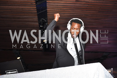 DJ Noel Sonkwa,   The Annual Young and the Guest List party hosted by Washington Life Magazine.  Arena Stage, Monday, December 17, 2012 .  Events by Andre Wells, Photo by Ben Droz.