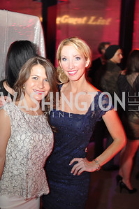 Lauren Alexandra Hersh, Lindsey Mask, The Annual Young and the Guest List party hosted by Washington Life Magazine.  Arena Stage, Monday, December 17, 2012 .  Events by Andre Wells, Photo by Ben Droz.