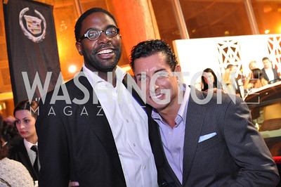 Andre Wells, Davide DePas,  The Annual Young and the Guest List party hosted by Washington Life Magazine.  Arena Stage, Monday, December 17, 2012 .  Events by Andre Wells, Photo by Ben Droz.