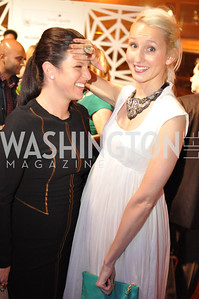 Anna Croll, Holly Thomas,  The Annual Young and the Guest List party hosted by Washington Life Magazine.  Arena Stage, Monday, December 17, 2012 .  Events by Andre Wells, Photo by Ben Droz.