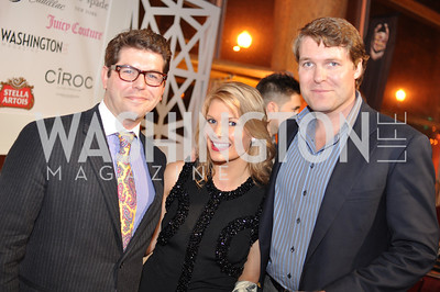 Dr. Mark Drapeau, Katherine Kennedy, Grant Allen,  The Annual Young and the Guest List party hosted by Washington Life Magazine.  Arena Stage, Monday, December 17, 2012 .  Events by Andre Wells, Photo by Ben Droz.