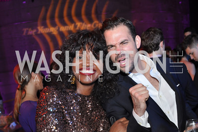 Aba Kwawu, Leo Schmid,  The Annual Young and the Guest List party hosted by Washington Life Magazine.  Arena Stage, Monday, December 17, 2012 .  Events by Andre Wells, Photo by Ben Droz.