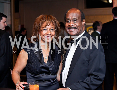 Catherine and Ike Leggett. Photo by Tony Powell. theatreWashington Star Gala & Benefit Auction. Four Seasons. October 26, 2012