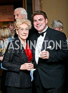 Evelyn Woolston-May, Mark Ohnmacht. Photo by Tony Powell. theatreWashington Star Gala & Benefit Auction. Four Seasons. October 26, 2012