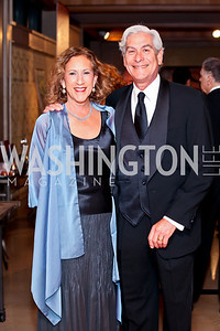 Peggy and David Shiffrin. Photo by Tony Powell. theatreWashington Star Gala & Benefit Auction. Four Seasons. October 26, 2012