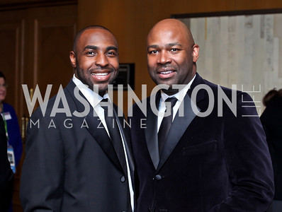 Clarence Fluker, Eric Richardson. Photo by Tony Powell. theatreWashington Star Gala & Benefit Auction. Four Seasons. October 26, 2012